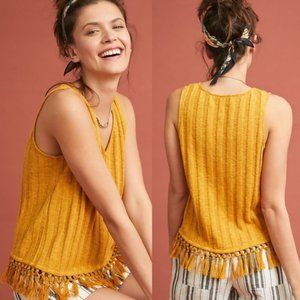 Anthropologie | NWT Beachcomber Fringed Tank